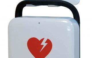 hlr-skane-klippan-väggfäste-upphängning-lifepak-cr2-defibrillator